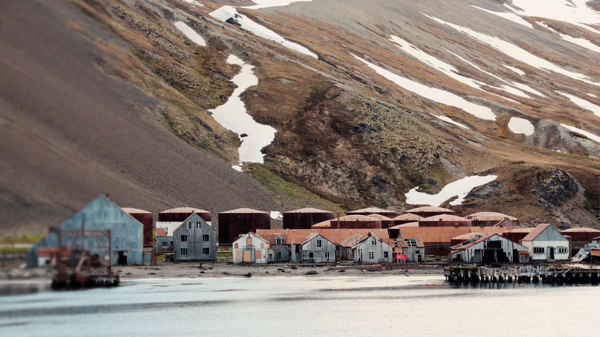 was bedeutet stille allein in der antarktis
