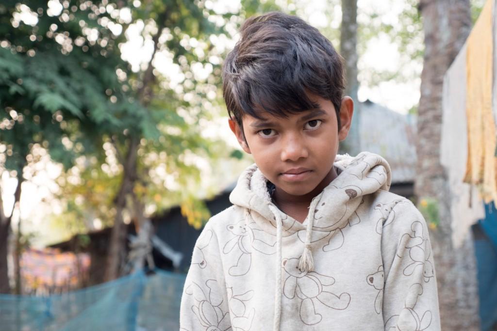 Ich spreche kein Bengalisch, die Kinder kein Englisch.
