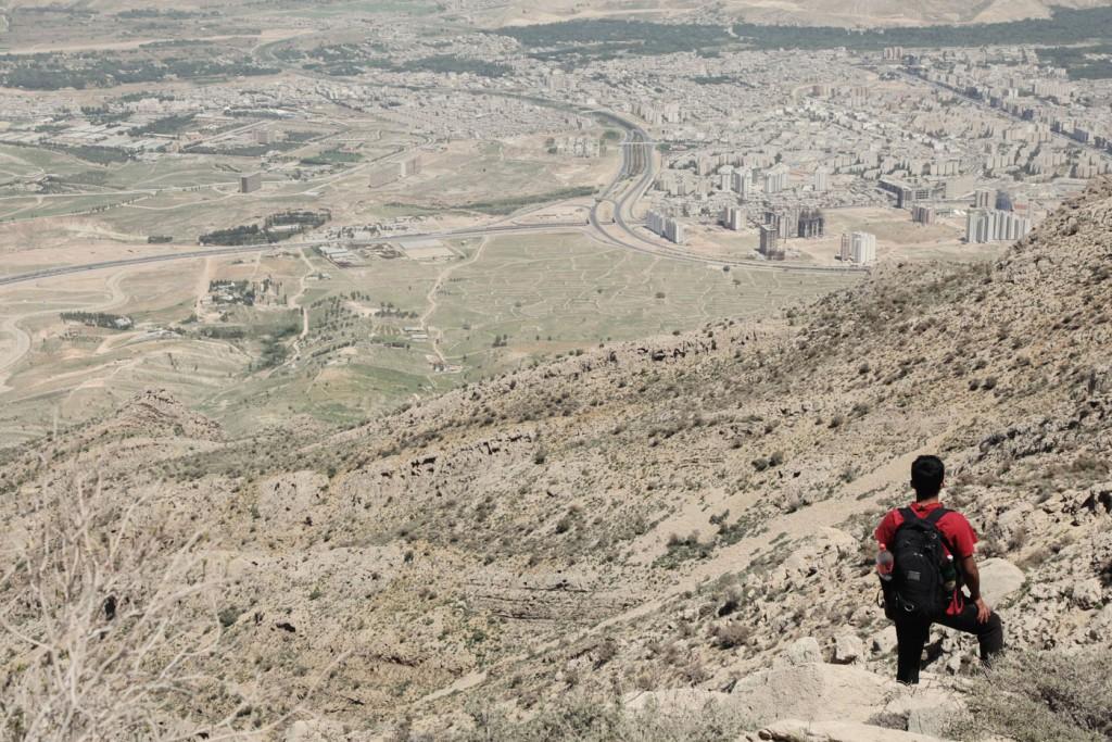 """Bergtour auf den 2800 Meter hohen Derak: """"Ich fühle mich nirgendwo so frei wie in der Natur"""", sagt Saeed."""