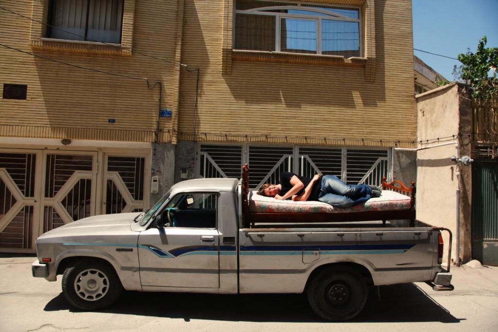In den meisten Städten war es kein Problem, privat eine Schlafgelegenheit zu finden.