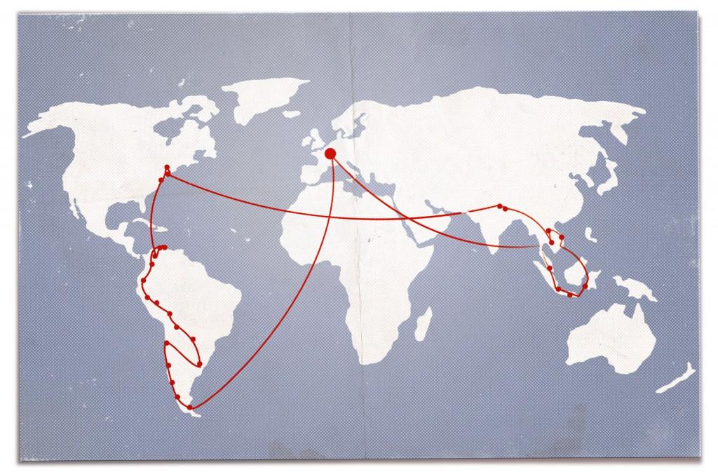 1,5 Jahre auf Weltreise