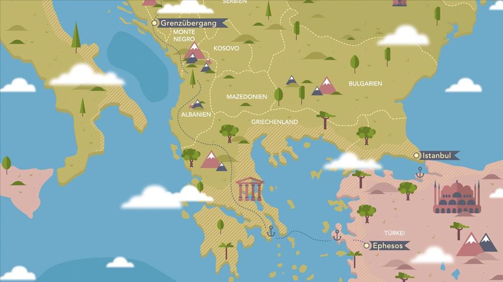 Route-Ephesos