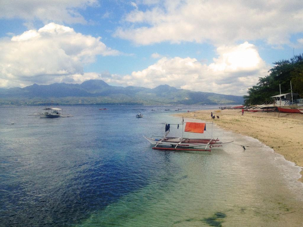 Mein nächstes Ziel! Negros, von Cebu aus gesehen.