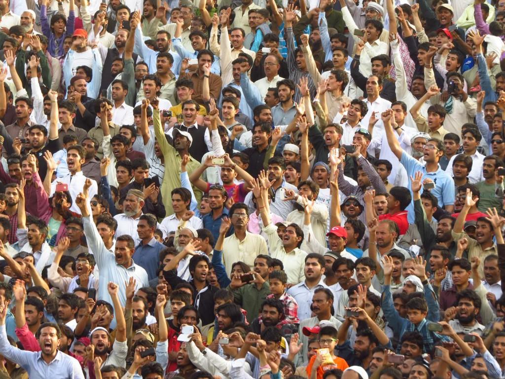 grenze indien pakistan zeremonie
