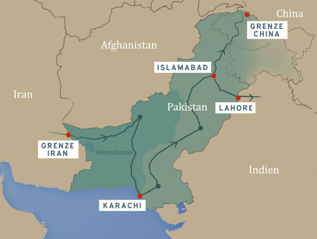 Pakistan-Route