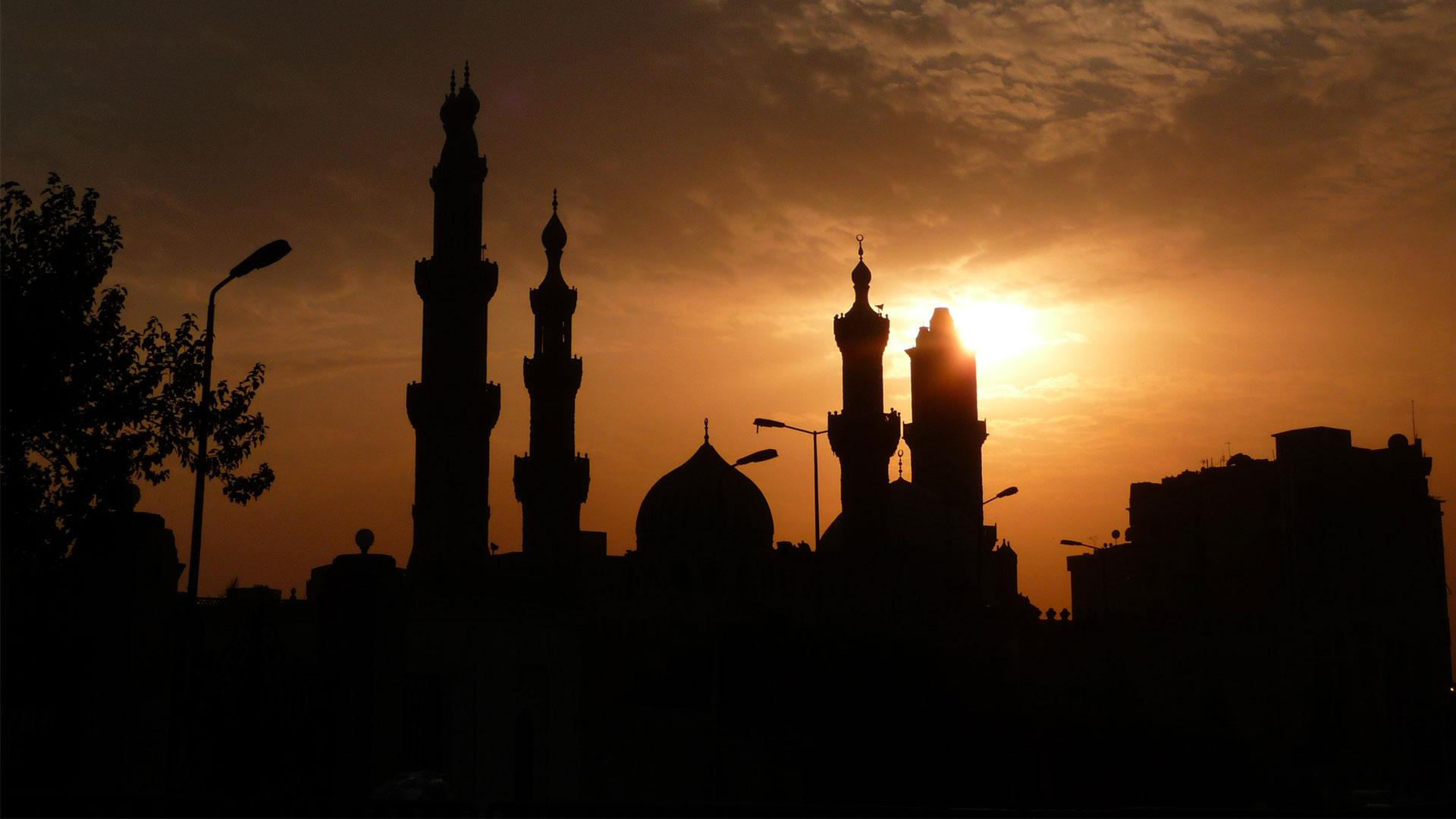 Sunset-Kairo