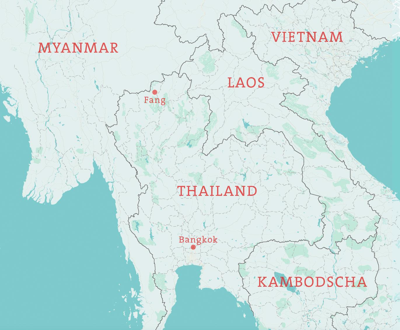 Thailand Karte Welt.Der Pfad Der Erleuchtung The Travel Episodes