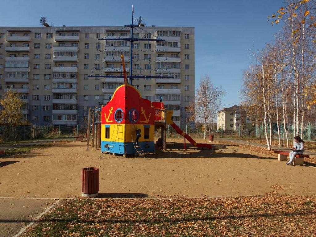 Mehr als 35.000 Menschen leben in Mirny - sie trotzen extremen Wintern und müssen mit der Abgeschiedenheit des Ortes zurecht kommen. Die nächste Großstadt ist 700 Kilometer entfernt.
